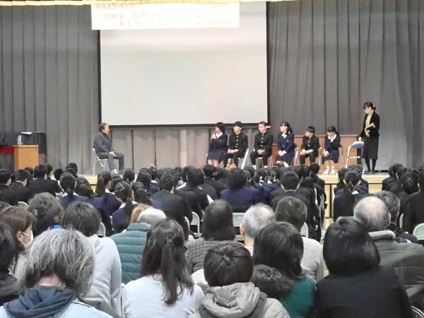 関野吉晴氏講話会