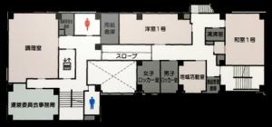センター2階平面図