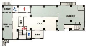 センター1階平面図